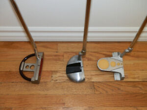 Collection of 3 Various RH Putters