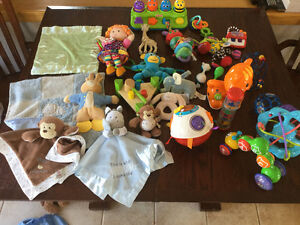 Discovery Toys, Hape, Vtech, Fisher Price, Sophie & Eric Carle