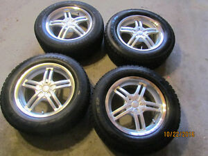 "Goodyear Nordic 16"" snow tires on alloys!"