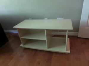 TV table -with 4 wheels.