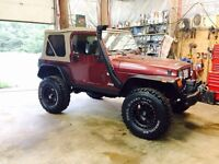 Reduced to sell 2002 Jeep TJ $6800 obo