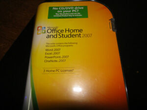 Microsoft Office Home and Student 2007