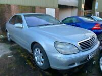 Mercedes S-Class S500 Long wheelbase, Spares OR Repairs, Project Car