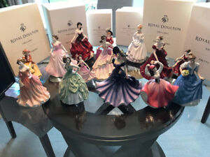 WOW Royal Doulton Collection for Sale.   Great Christmas Gift