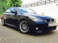 2008 57 reg. BMW 520 2.0 D M Sport
