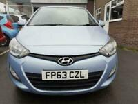 2013 Hyundai i20 1.2 ACTIVE 5d 84 BHP Hatchback Petrol Manual