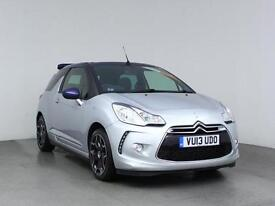 2013 CITROEN DS3 1.6 THP DSport Soft Top Low Miles Leather