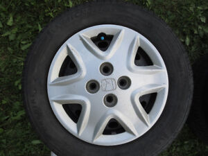 2001-2005 HONDA CIVIC TIRES ON RIMS 185/65/14