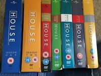 House seasons 1-7 box sets
