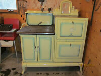 CLARE JEWEL WOOD STOVE (and cash register)