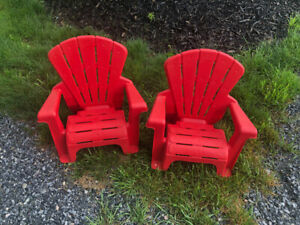 Child Adirondack Chairs - Set is 2