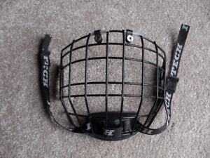 ITECH Black Z262.2 M90 Type 2 RBE III Jr Hockey Facemask