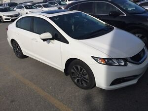 2015 Honda Civic EX Sedan ONLY 130.60$BiWeekly LEASE TAKEOVER!! Gatineau Ottawa / Gatineau Area image 4