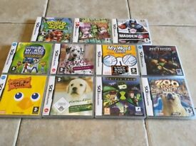 11 Nintendo DS games bundle - all boxed