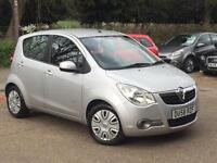 2008 Vauxhall Agila 1.2i 16v Club Silver only 67,323 Miles SUPERB THROPUGHOUT!!!