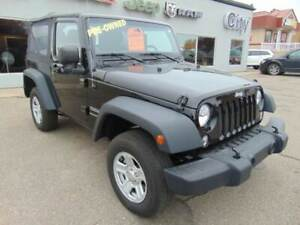 2014 Jeep Wrangler Sport low km