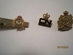 Police Pins and Tie Pin