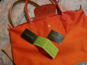 Longchamps le Pliage Néo L (orange)