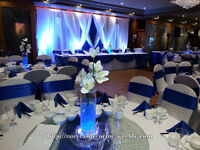 Affordable wedding decoration service, backdrop, ceremony decor