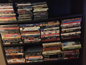 Large Assortment of Blu Rays, Movies and TV Seasons