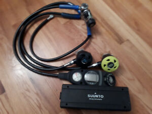 SCUBA regulator and dive computer