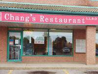 Part Time Kitchen Help - Chang's Chinese Restaurant