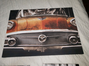 Canvas pictures from Bouclair. Perfect condition