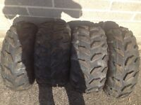 Maxxis quad tyres Yamaha grizzly honda trx can am Kawasaki kvf quad