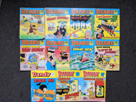 Beano and Dandy comic library books