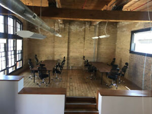 Shared Office Space in Liberty Village