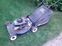 Sears Craftsman 6HP lawn mower with bag.