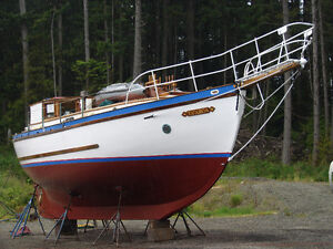 Live Aboard Gaff Ketch Sailboat Sell or Trade