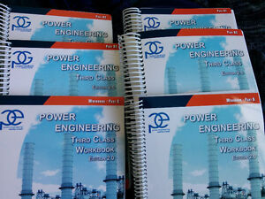 Panglobal 3rd class power engineer textbooks with Workbooks