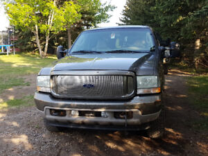 2003 Ford Excursion 7.3 diesel limited edition