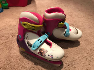 Child's adjustable skates (Frozen)