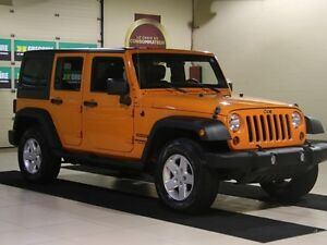 2012 Jeep Wrangler Sport 4WD AUTO A/C 2TOITS MAGS