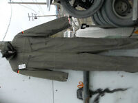 German WWII flight coveralls, lined