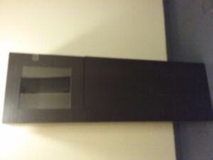 Double wood door for Ikea Besta Cabinet,  $30