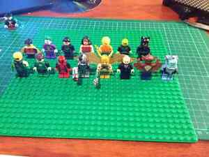 lego superhero mini figures