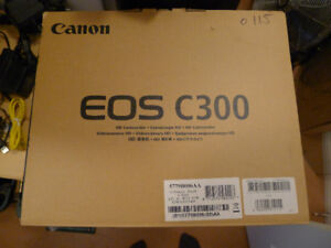 Canon C300 Camcorder DSLR Low hours
