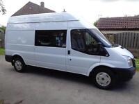 2012 (62reg) Ford Transit 2.2TDCi T350 LWB, Crew Van, Mess Van, Welfare Unit