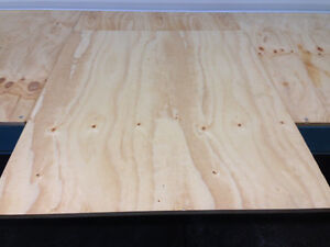 3/4 Inch Plywood Square Sheets