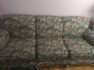 Couch, love seat and pillows for sale