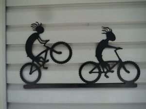 Garden and Fence metal art