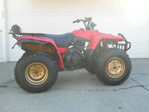 1996 YAMAHA 4X4 BIG BEAR 350  ELECTRIC & PULL START