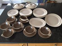 36 piece Vintage Poole Pottery dinner service
