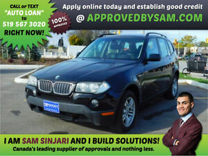 BMW X3 - Payment Budget and Bad Credit? GUARANTEED APPROVAL.