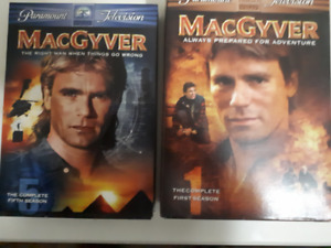 Everybody Loved MacGyver! Complete 1st and 5th Seasons for Sale