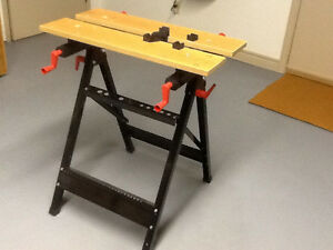 Folding work/clamp stand Kawartha Lakes Peterborough Area image 1