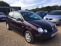 VW POLO 1.4 TWIST 3DR * RARE SUNROOF * IDEAL FIRST CAR * CHEAP INSURANCE * HPI CLEAR